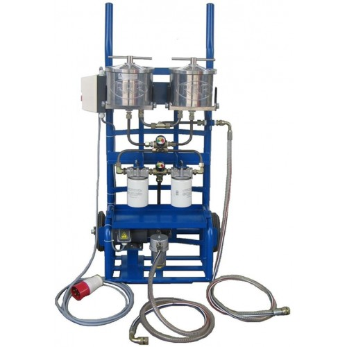 Oil Cleaner Cart